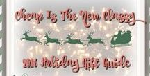 Holiday Gift Guide / Check out the Cheap Is The New Classy Holiday Gift Guide #holidaygiftguide #giftguide