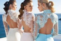 Lace & Luxury / Wedding dresses with beautifully detailed backings, lace gloves, & luxurious lace based items  / by Joy Yeager