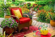 Patio and Porch