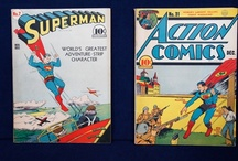Vintage Comics: Cape Optional / From untouched booklets to toy figurines, comics and cartoons capture snapshots of pop culture's ideals [and humor!]  / by Antiques Roadshow