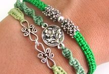 Jewelry - Corded/Friendship/Wrap / DIY projects and techniques on how to do knots / by Linda Cox