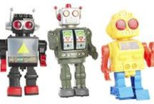 Robots / I <3 Robots, so a place to capture my fascination with them. / by Kat Mandelstein