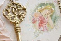 ✎ Art Key and Keyholes / by Gadidjah ♥ Let's Get Creative ♥