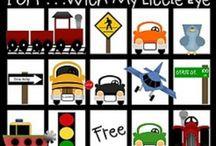 Family Road Trip / Kids travel activities