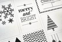 CHRISTMAS_Printables / Christmas printables to decorate