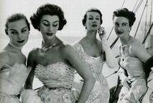 Vintage / Vintage dresses and fashion