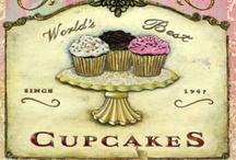 Cupcakes & Macarons und allerlei Süßes