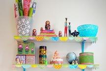 workspaces & crafting rooms