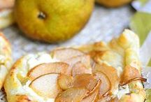 Pears / Pear recipes, decorations, ideas, and more. What will YOU do with delicious and diverse pears?