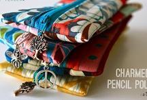 reißverschlusstäschchen | zipper pouches
