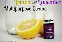 Natural cleaners for the home / Completely natural and homemade cleaners for the home