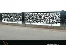 Cast Iron Grills / People think of grills to be more of utility value of covering or acting as a barrier to the unwanted. We visualize them to be vast spaces which become the perfect host for intricate art. Our ranges of grills are sure to spoil you for choice