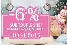 Bons plans roseoubleu.fr / #bonplan #offresflash #promo sur des articles #bebe et #puericulture sur roseoubleu.fr