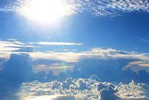 Cores do céu / Sky, clouds, colors, beauty, nature.