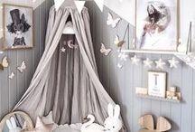 Nursery Decor Ideas / Big ideas for teeny people!