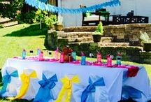 Luau Party :: Moms Know All /  Step into a tropical island with this bright and cheerful luau party. www.momsknowall.com