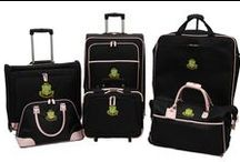AKA Luggage / The luggage of choice for the ladies of Alpha Kappa Alpha Sorority, Inc.
