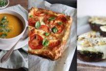 Beginspiration's Weekmenu / Inspiratie voor de hele week. Een weekmenu met vijf simpele en gezonde gerechten voor doordeweeks, en wat extra inspiratie voor het ontbijt, in het weekend, zelfgemaakte lekkernijen en de ster van de week.