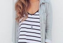 chambray + stripes forever