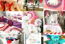 Unicorn and Rainbows Party :: Moms Know All