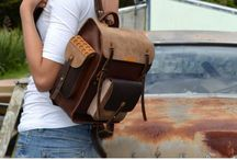 leather hand made bags / Beautifully hand made hand bags, satchels and all leather wear that contains your valuables