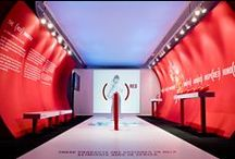 """Bono (Red) Campaign.  Award Winning Motorola (Red) Pop-Up Store in Chicago. / DNS Displayed teamed up with architect  (former Walker Group/CNI) to complete Motorola's unique concept on Chicago's Madison Avenue, Motorola RED.    The project was an overwhelming success and the store received the """"Design for a Cause"""" in Chain Store Age's 2006 Retail Store of the year competition, """"Specialty Store under 1500 sq ft. - 1st place"""" in the ISP/VM+SD International Store Design Competition, and Grand Prize in the """"Pop-Up Store"""" category of NASFM 2007 Retail Store Design Award."""