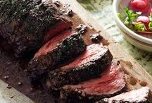 Beef Recipes / Sorry, vegetarians, I love a good lean beef recipe.