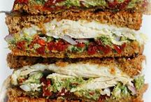 Yummy Sandwich Ideas / Most of these sandwiches and hearty and healthy enough to be dinner... or a really awesome lunch.