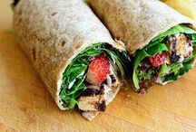 Healthy Wraps, Rolls, Tacos, Quesadillas / I'm always on the lookout for healthy wraps and tacos, or anything rolled, folded, tucked, etc.