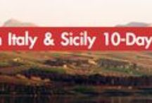 Southern Italy & Sicily 10 Day Tour / Experience the beauty of Southern Italy & Sicily on our 10 Day Summer Tour - http://goo.gl/q09ldH
