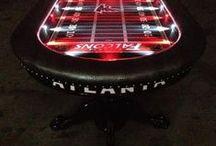 Poker Tables with Lights / #poker #pokertables #pokerchips #pokersite #custompokertables #LEDlights