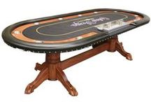 Texas Holdem Custom Tables / We specialize in Custom Poker Tables with Lights.  We offer rope lights, focused LED lights and strip lighting with a controller.  #pokertables #custompokertables #texasholdemtables