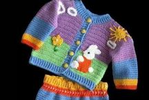 crochet baby and toddler dresses and outfits