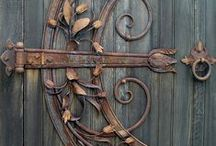 Architecture Doors, Knockers & Knobs / What's behind all these doors?  Come on in... / by Melanie Sperry