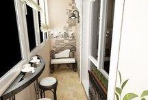 Балкон / Идеи для балконов и террас