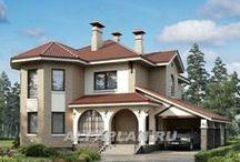 фасады и дома / фасады зданий