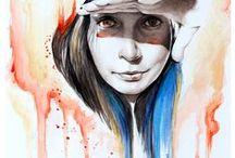 """""""Érzések akvarellel megfogalmazva"""" / Akvarell festészet"""