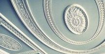 DECORATIVE MOULDINGS / Beautiful ceiling mouldings inspired by the work of Robert Adam