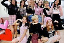 twice / Nayeon, Dahyun, Jihyo, Momo, Sana, Mina, Tzuyu, Jeongyeon and Chaeyoung || bias: dahyun || debut: 2015