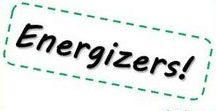 Energizers &  Tussendoortjes / Leuke bewegingsoefeningen, spelletjes, ... om weer ENERGIE te krijgen