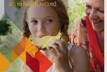 e-Health Resources / Resources to help you learn about Australia's personally controlled electronic health (eHealth) record system, and how having an eHealth record will, over time, help to deliver better, more effective and efficient health outcomes for all Australians.  / by Australian Department of Health