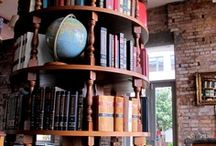 Libraries & Bookshelves / by Alfons