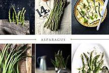 Asparagus , green beans and broccoli/cauliflower...