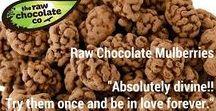 Raw Chocolate Snacks / Raw Chocolate Snacks from the Raw Chocolate Company www.therawchocolatecompany.com