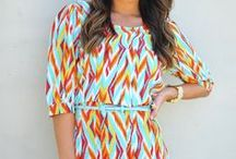 Colorful Dresses / Beautiful dresses for Spring and Summer wear.
