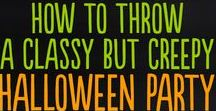 Halloween Decorations / We are hosting a #family #friendly #Halloween #party. I'm also on the #Trunk or #Treat hosted by the #PTA at #school. I hope you find these #ideas helpful. #easy#halloween  #decor #decoration #DIY #decorations #vcmblog#creative#unique#lastminute#quick#cool #idea#halloween#outdoor #ideas#simple #office #scary#cheap#cute#indoor#porch#easy#apartment#sophisticated #wall#fancy#On A Budget #funny #school#work#party #outdoor #fun #cute #scary #home #door #yard #fall #autum #harvest