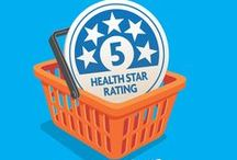 Health Star Rating / Health Star Ratings are a quick and easy way to compare the nutritional profile of packaged foods. The more stars, the healthier the choice.  The Health Star Rating system is a collaboration between Australian, state and territory governments, industry, public health and consumer groups. The Health Star Rating system will be implemented voluntarily over the next five years.   For more information on the Health Star Ratings visit: www.healthstarrating.gov.au / by Australian Department of Health