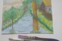 art / art, paintings, acrylic