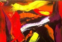 abstract paintings / art, abstract paintings, sylchra