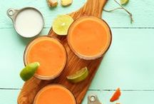 Drink/Smoothie Recipes / All kinds of beverage recipes from teas, lemonades, shakes, slushes, green smoothies, fruit smoothies to cocktails that are tasty and good for the soul!